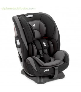 SILLA DE AUTO EVERY STAGE GR.0+/1/2/3 TWO TONE BLACK JOIE