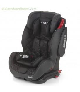 silla auto thunder isofix gr.1/2/3 meteorite be cool