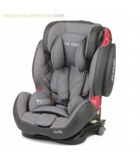 SILLA DE AUTO THUNDER ISOFIX GR.1/2/3 MOONLIGHT BE COOL