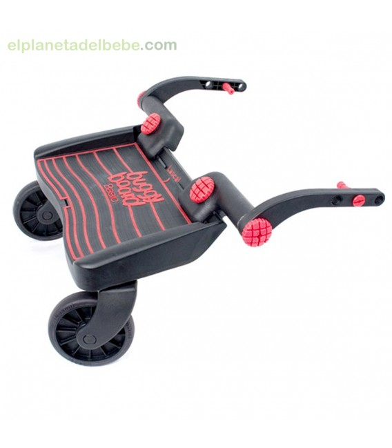 buggyboard mini rojo negro