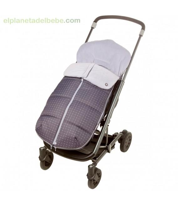 saco de invierno para silla de paseo tuc tuc between stars. Black Bedroom Furniture Sets. Home Design Ideas