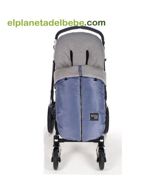 Saco silla urban baby azul walking mum