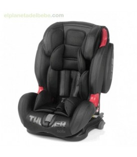 SILLA DE AUTO THUNDER ISOFIX GR. 1/2/3 692 BLACK CROWN BE COOL
