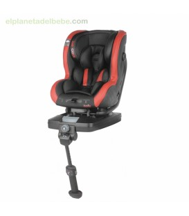 SILLA DE AUTO TWIST ISOFIX GR.0+/1 RED DEVIL BE COOL