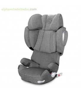 Silla auto Solution Q3 Fix Plus Manhattan Grey Cybex