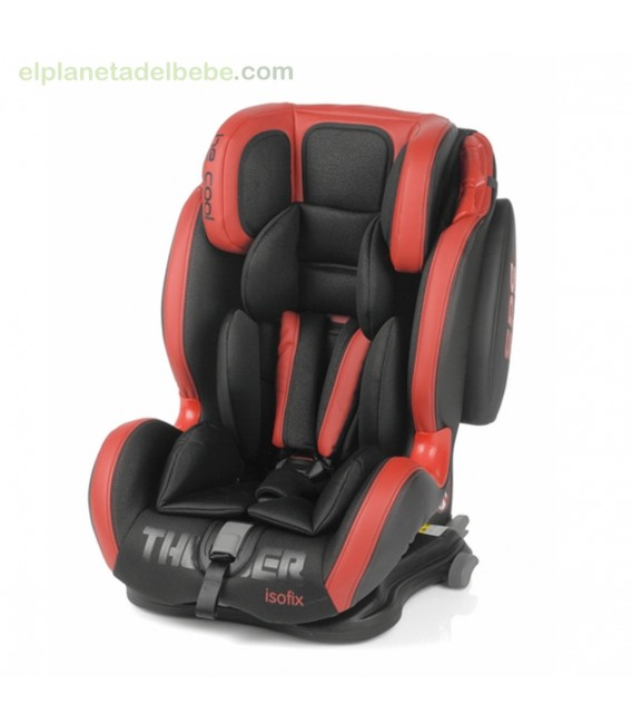 silla auto thunder isofix gr.1/2/3 red devil be cool