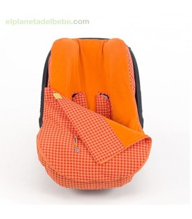 SACO GRUPO 0 HAPPY FLUOR NARANJA WALKING MUM