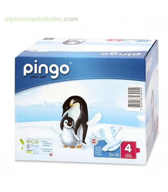PAÑALES PINGO TALLA 4 MAXI (40 UNDS).