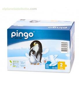PAÑALES PINGO TALLA 2 MINI (42UND).