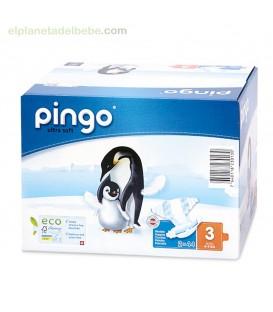 PAÑALES PINGO TALLA 3 MIDI (42 UND).