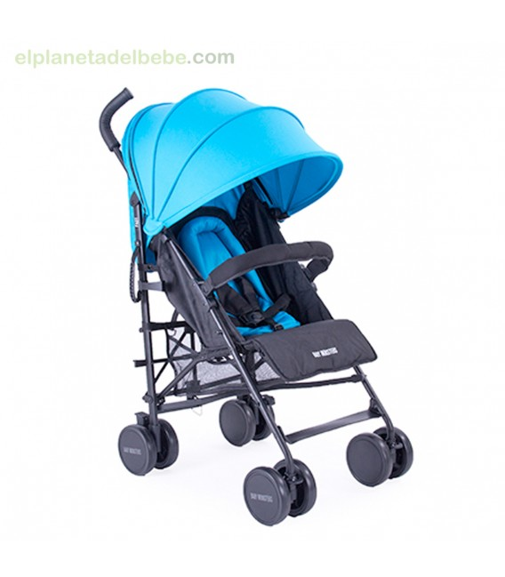 SILLA PARAGUAS FAST AZUL TURQUESA BABY MONSTER