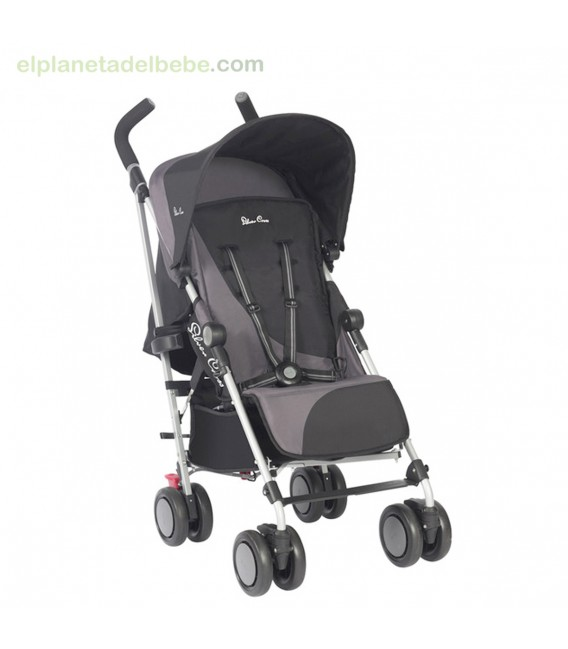 SILLA DE PASEO POP BLACK SILVER CROSS