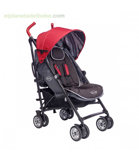 SILLA DE PASEO MINI BUGGY UNION RED EASYWALKER