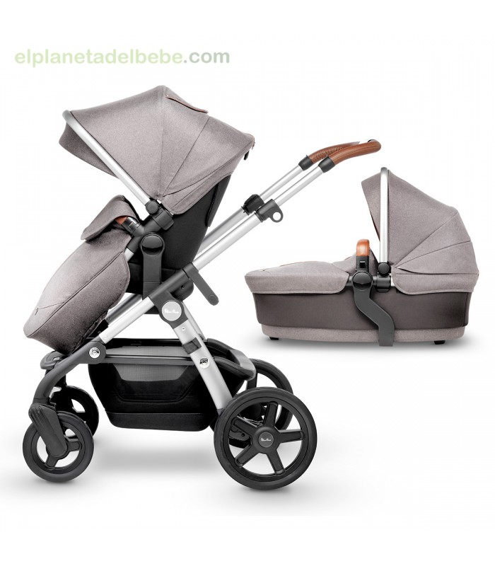 Carrito silver cross wave sable for Carritos con ruedas para cocina