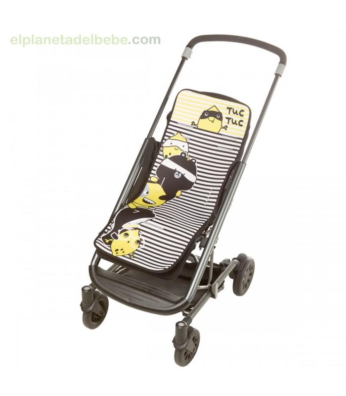 Colchoneta silla ligera crazy lemon tuc tuc for Silla ligera tuc tuc