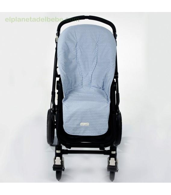 Colchoneta silla de paseo sophie azul pasito a pasito - Funda silla paseo ...