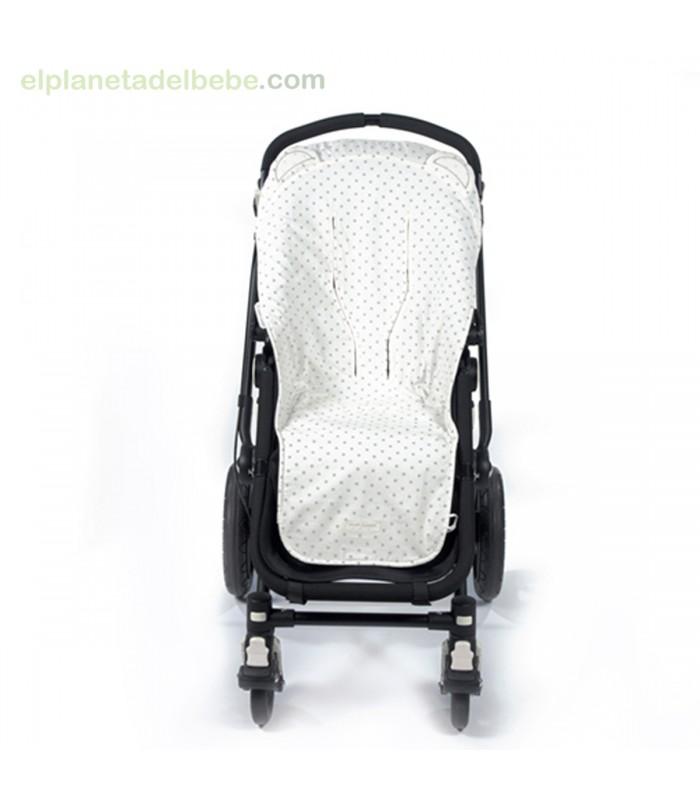 Funda silla verano normandie gris pasito a pasito - Funda silla paseo ...