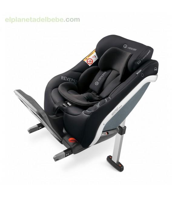 SILLA DE AUTO REVERSO PLUS I-SIZE COSMIC BLACK 983 CONCORD