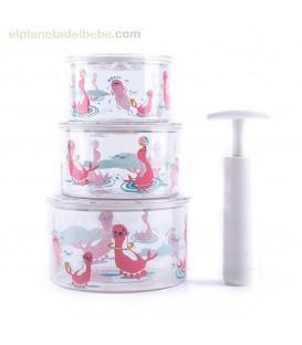 TUP-AIR (ENVASE AL VACIO) ROSA BABY MONSTERS