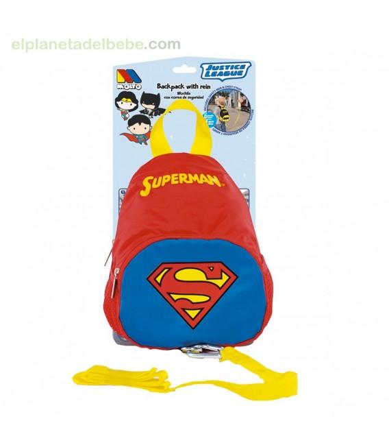 MOCHILA CON ARNES SUPERMAN MOLTO