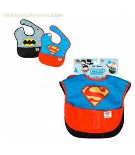 SET BABEROS 2 UDS. BATMAN SUPERMAN MOLTO