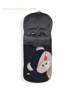 SACO CARRO MODELO PIRATA INTERBABY