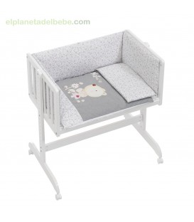 MINICUNA COLECHO NATURE ROSA INTERBABY