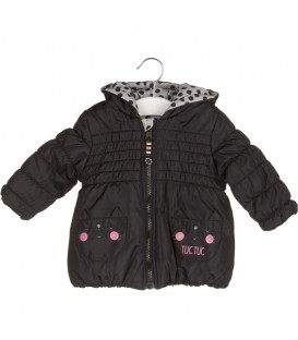 PARKA TECNICA REVERSIBLE BLACK AND WHITE TUC TUC