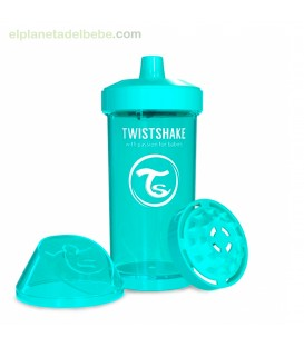 TWISTSHAKE KID CUP TURQUESA 360ML +12M