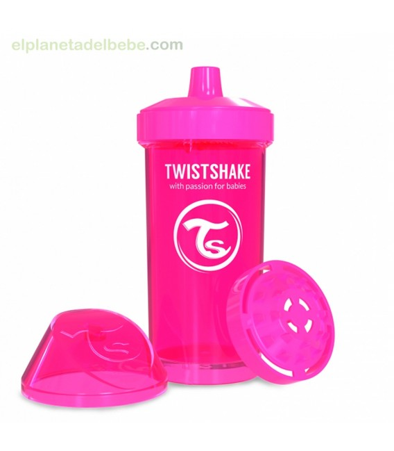 TWISTSHAKE KID CUP ROSA 360ML +12M