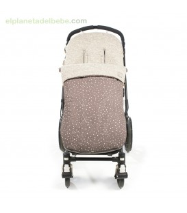 SACO SILLA INVIERNO POSITIVE MARRON WALKING MUM