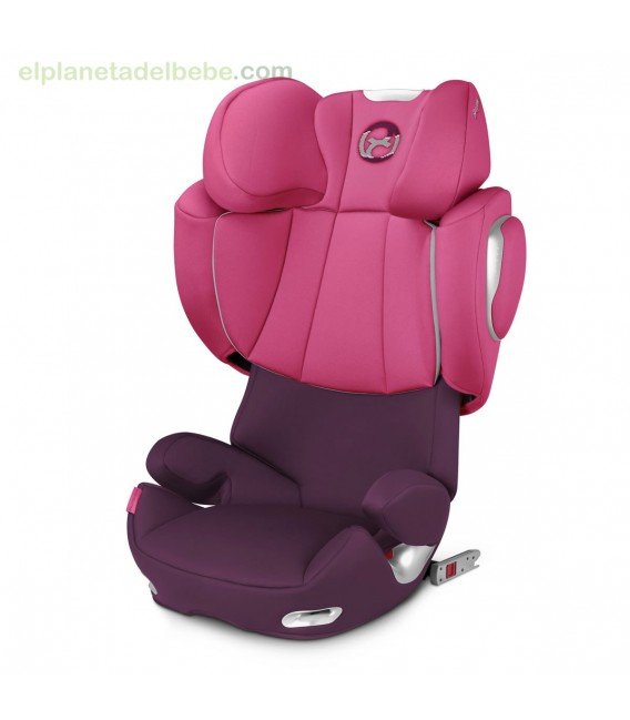 Silla auto Solution Q3 Fix Plus Mystic Pink Cybex
