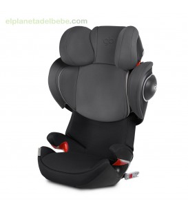 SILLA AUTO ELIAN FIX GR. 2/3 MONUMENT BLACK GB
