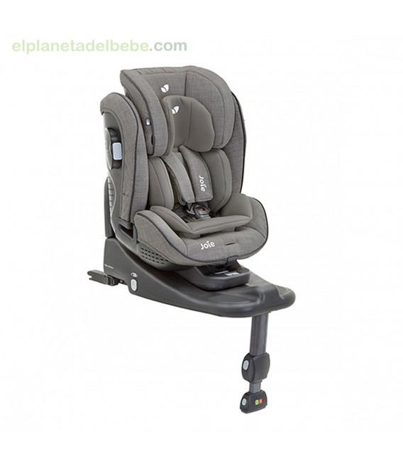 SILLA STAGES ISOFIX GR.0/1/2 + BASE FOGGY GRAY JOIE