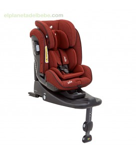 SILLA STAGES ISOFIX GR.0/1/2 + BASE CRANBERRY JOIE