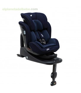 SILLA STAGES ISOFIX GR.0/1/2 + BASE NAVY BLAZER JOIE