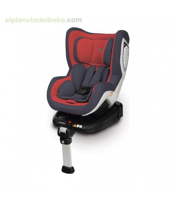 SILLA DE AUTO BI CARE FIX GR.0+/1 RED FLAME 915 CASUALPLAY