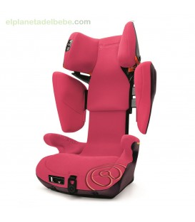 SILLA DE AUTO TRANSFORMER X BAG GR.2/3 ROSE PINK CONCORD