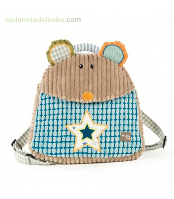 MOCHILA RATITA PATCHWORK WALKING MUM