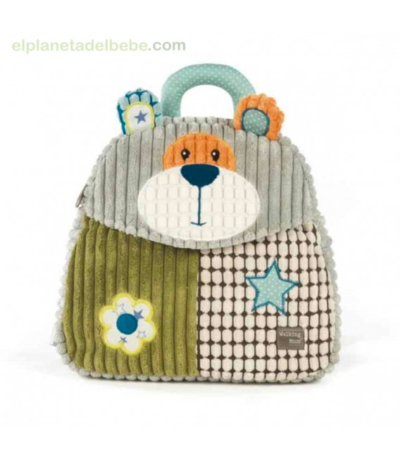 MOCHILA OSITO PATCHWORK WALKING MUM