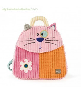 MOCHILA GATITA PATCHWORK WALKING MUM