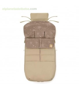 SACO SILLA NEST PLUS LEATHER CREAM T50 JANE