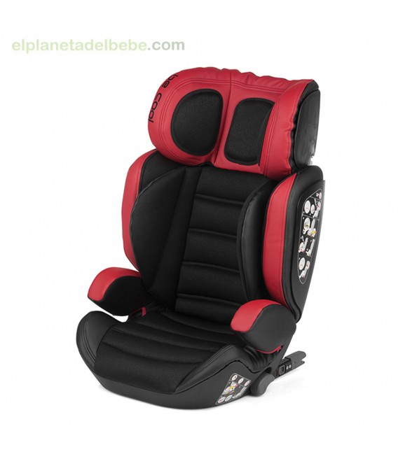 SILLA AUTO TORNADO FIX GR.2/3 695 RED DEVIL BE COOL