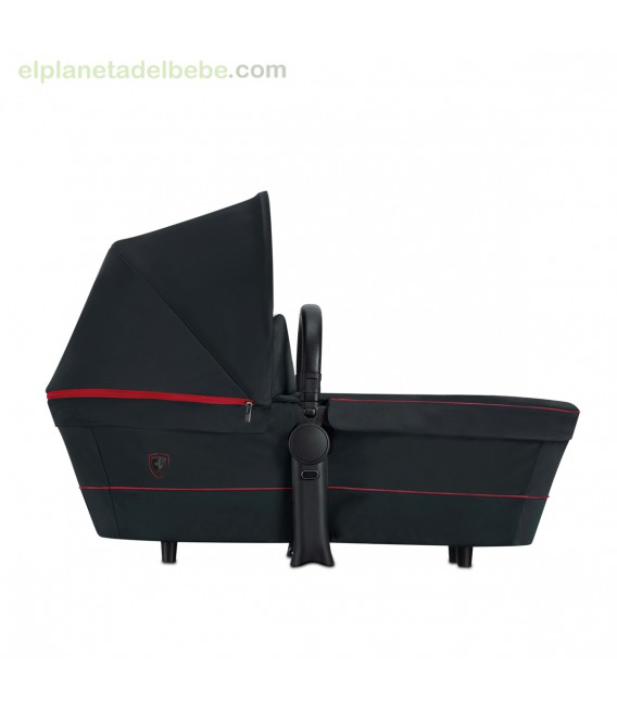 PRIAM CARRY COT SCF RB VICTORY BLACK FERRARI CYBEX