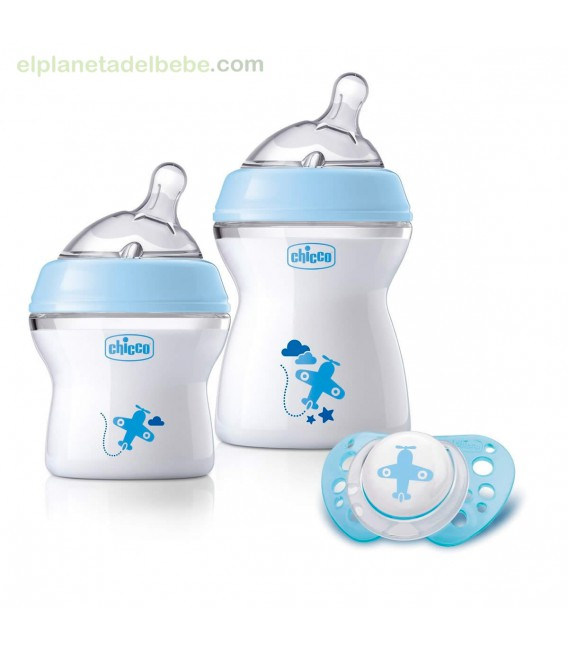 SET REGALO NATURAL FEELING AZUL 0M+ CHICCO