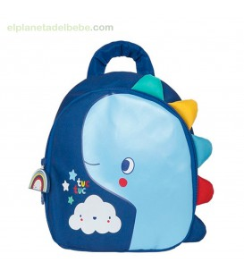 MOCHILA INFANCIA ENJOY & DREAM AZUL TUC TUC