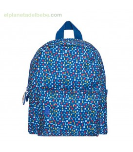 MOCHILA GUARDERÍA ENJOY & DREAM AZUL TUC TUC