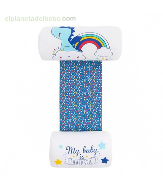 COJIN ANTIVUELCO ESTAMPADO ENJOY & DREAM AZUL TUC TUC