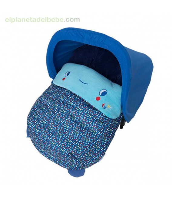 MINI SACO INVIERNO ENJOY & DREAM AZUL TUC TUC