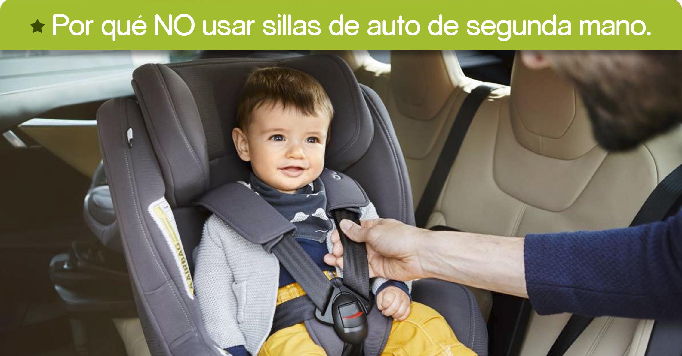 Por qu no usar sillas de auto de segunda mano el planeta del beb - Silla coche segunda mano ...